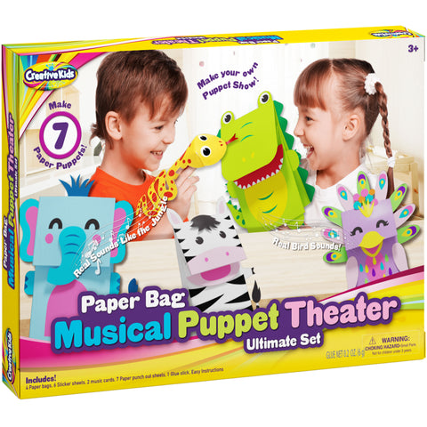 Musical Puppet Theater by Creative Kids Make Your Own Hand and Finger Puppets