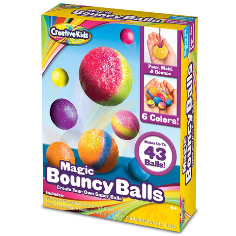 Magic Bouncy Balls - Create Your Own Power Balls Craft Kit for Kids