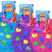 Zzand Stretch Sand by Creative Kids – Stretchy Sand Kit with Molding Tools