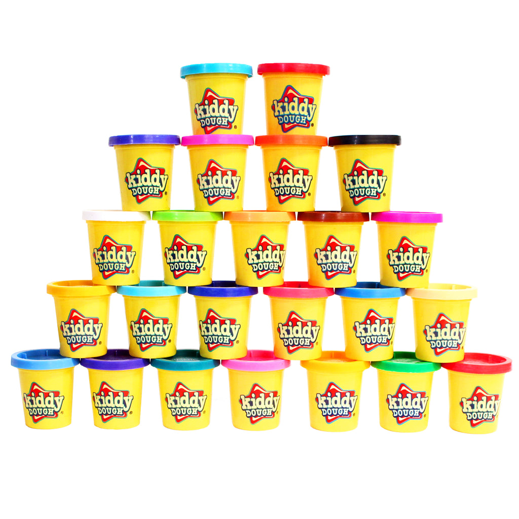 24 Pack of Color Play Dough - 3-Ounce Cans Bulk Party Pack