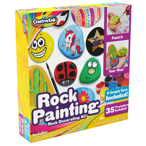 Ultimate Rock Painting Craft Kit for Kids