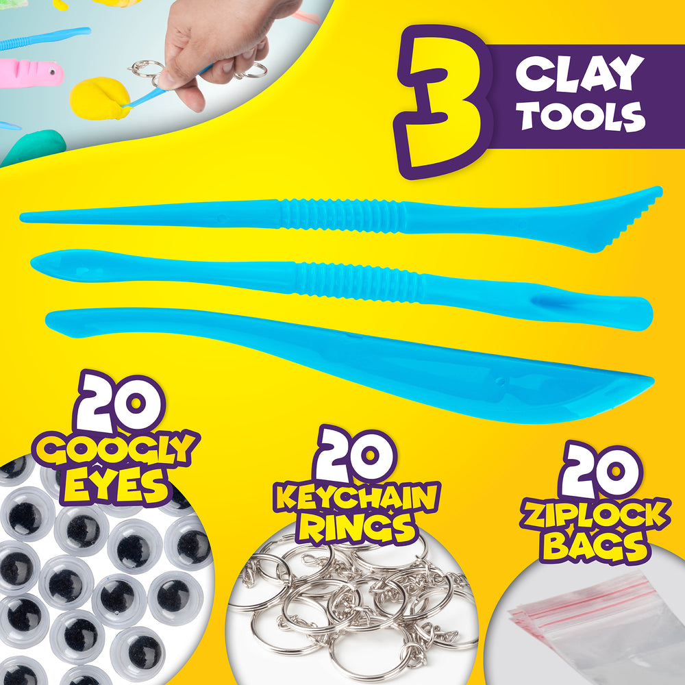 Air Dry Clay Modeling Crafts Kit For Children