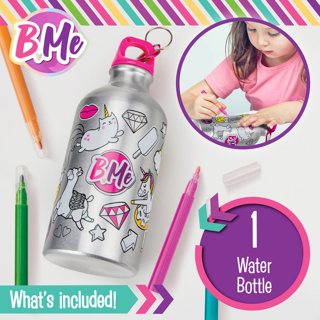 Color-Your-Own Lunch Bag & Water Bottle