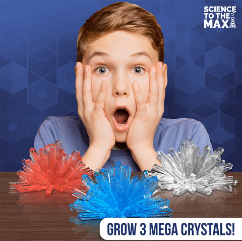 Grow Your Own Crystal Pod Pack for Kids