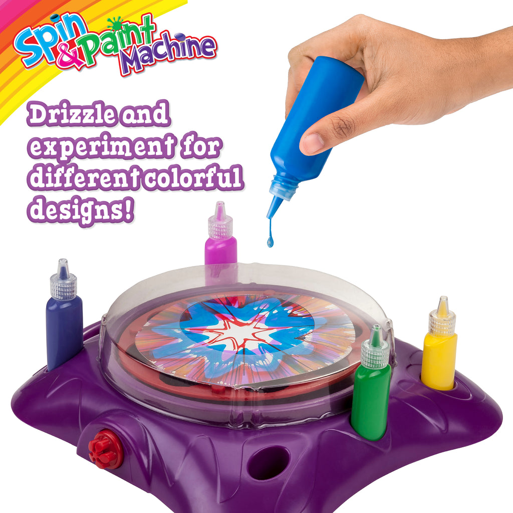 Spin & Paint Art Kit