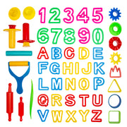 42-Piece Tools Party Pack w/Letters and Numbers