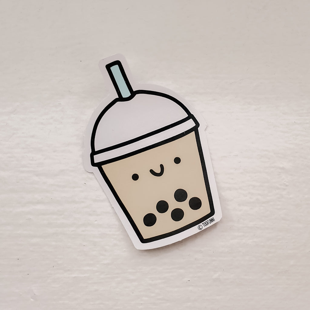 BUBBLE TEA - Vinyl Sticker (CLEARANCE - New Version coming soon!)