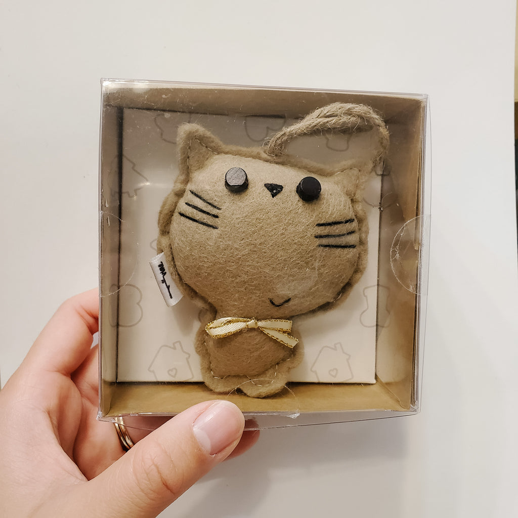 MEOW CAT - TAN - Ornament