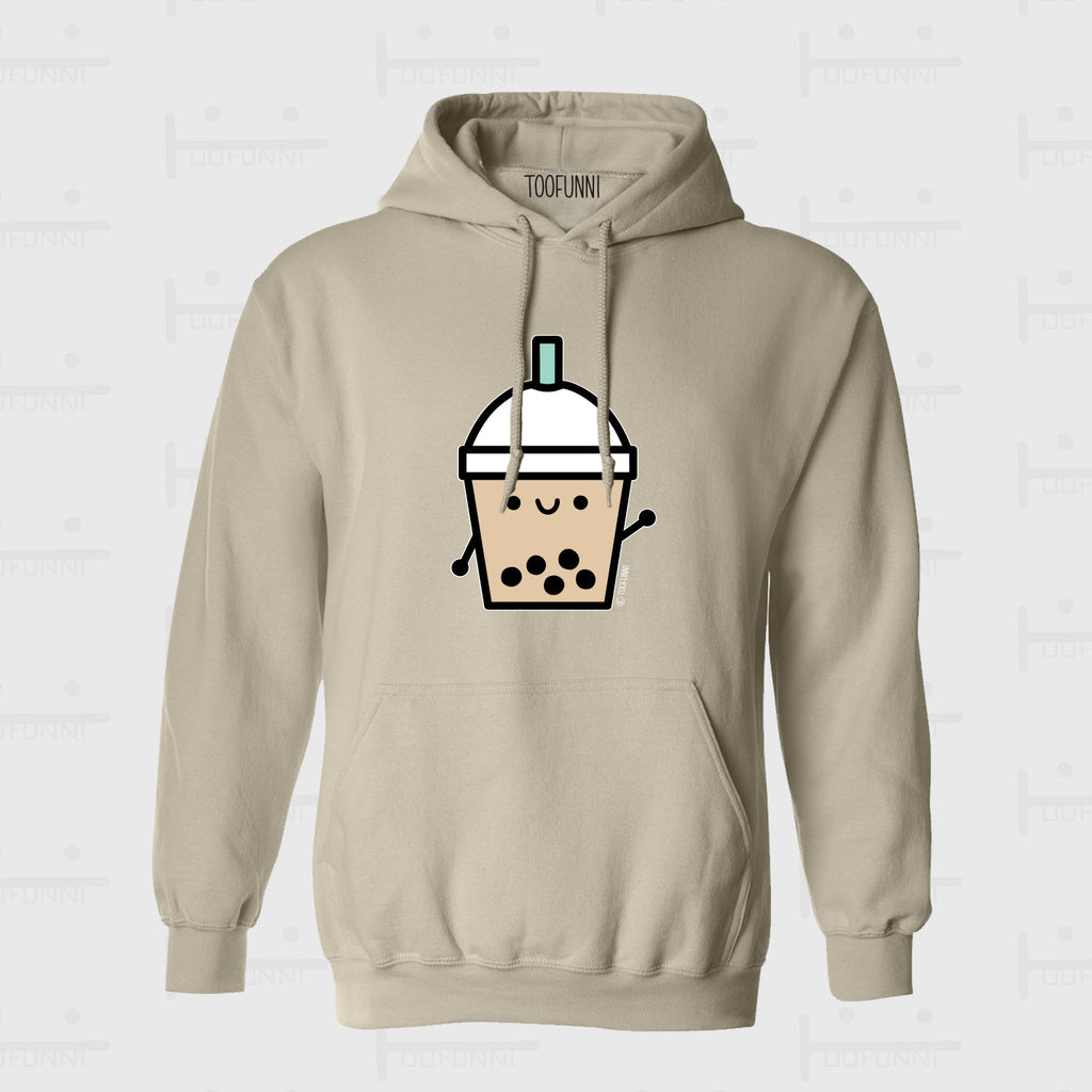 BUBBLE TEA BLUE or PINK - Sand Hoodie