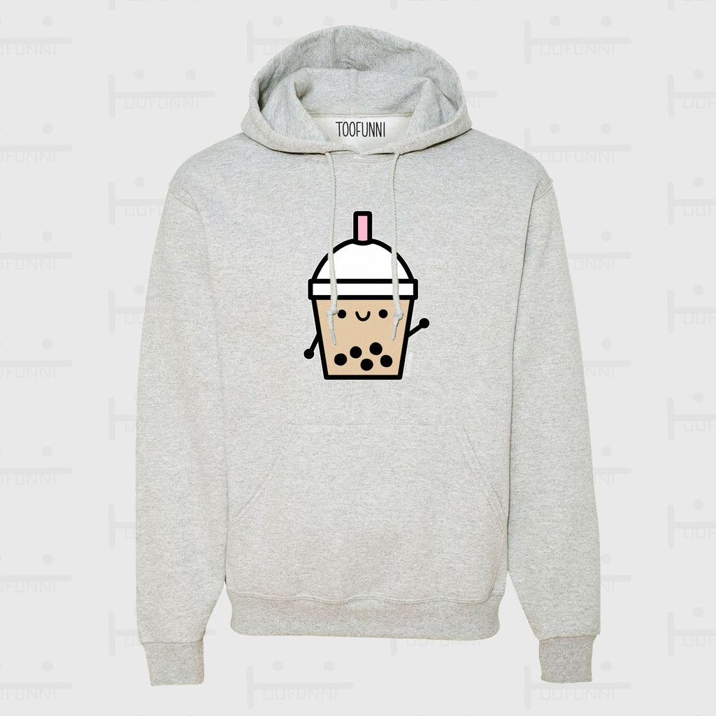 BUBBLE TEA BLUE or PINK - ASH Hoodie