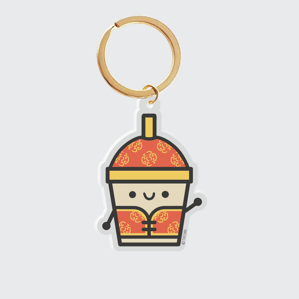 LNY BUBBLE TEA - Acrylic Charm (Limited Edition)