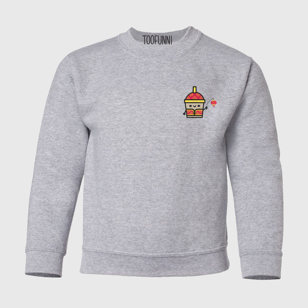 LNY BUBBLE TEA - Youth Crewneck