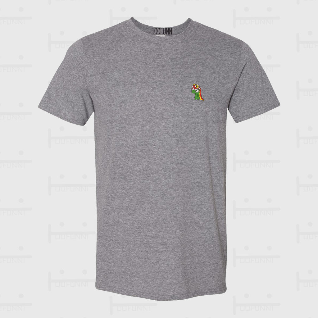 LNY DINO LION - Semi-Fitted T-shirt