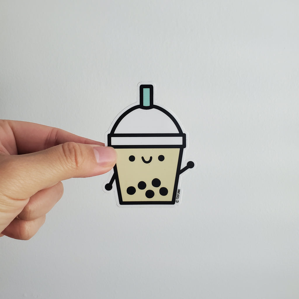 BUBBLE TEA - Vinyl Sticker