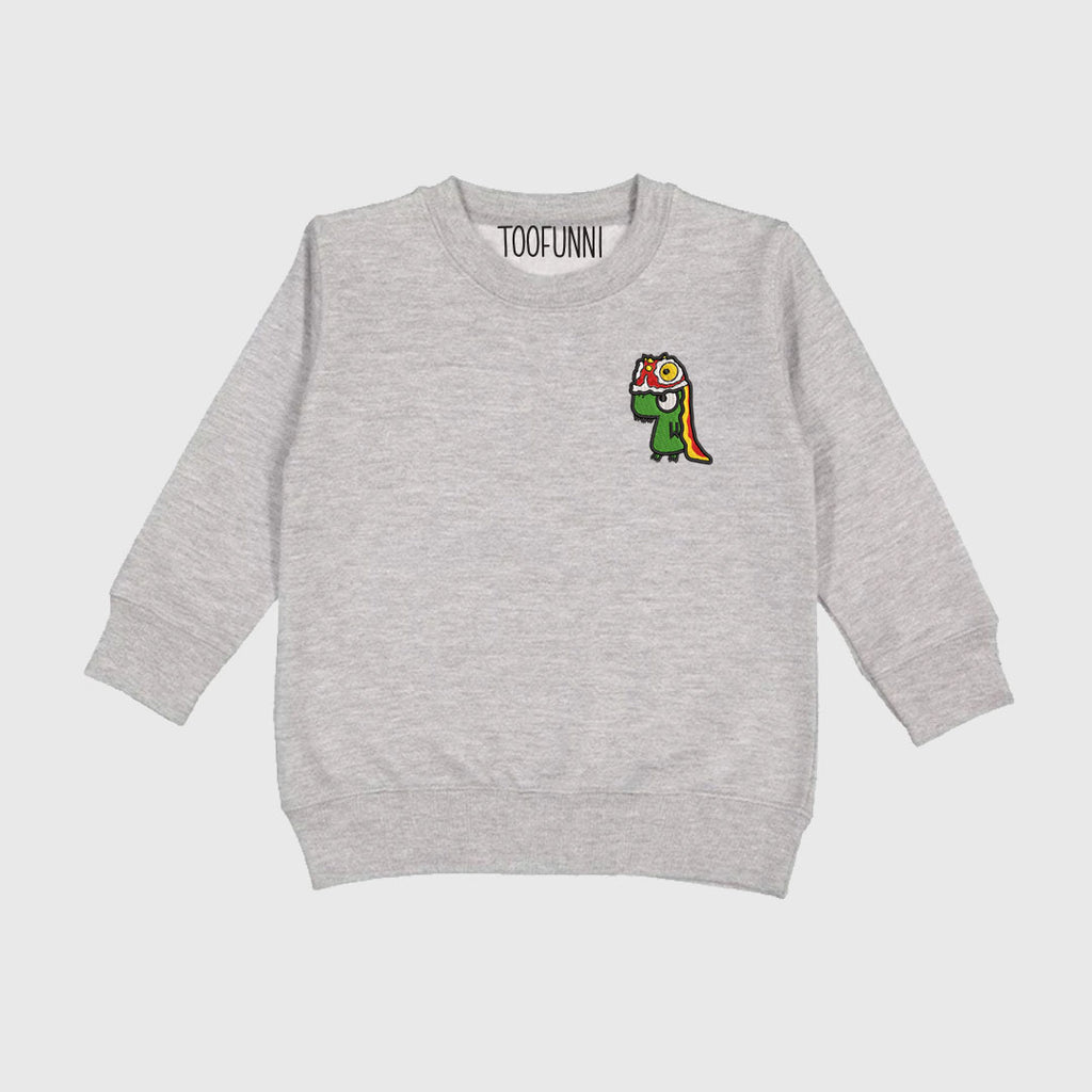 LNY LION DINO - Toddler Crew or Hoodie