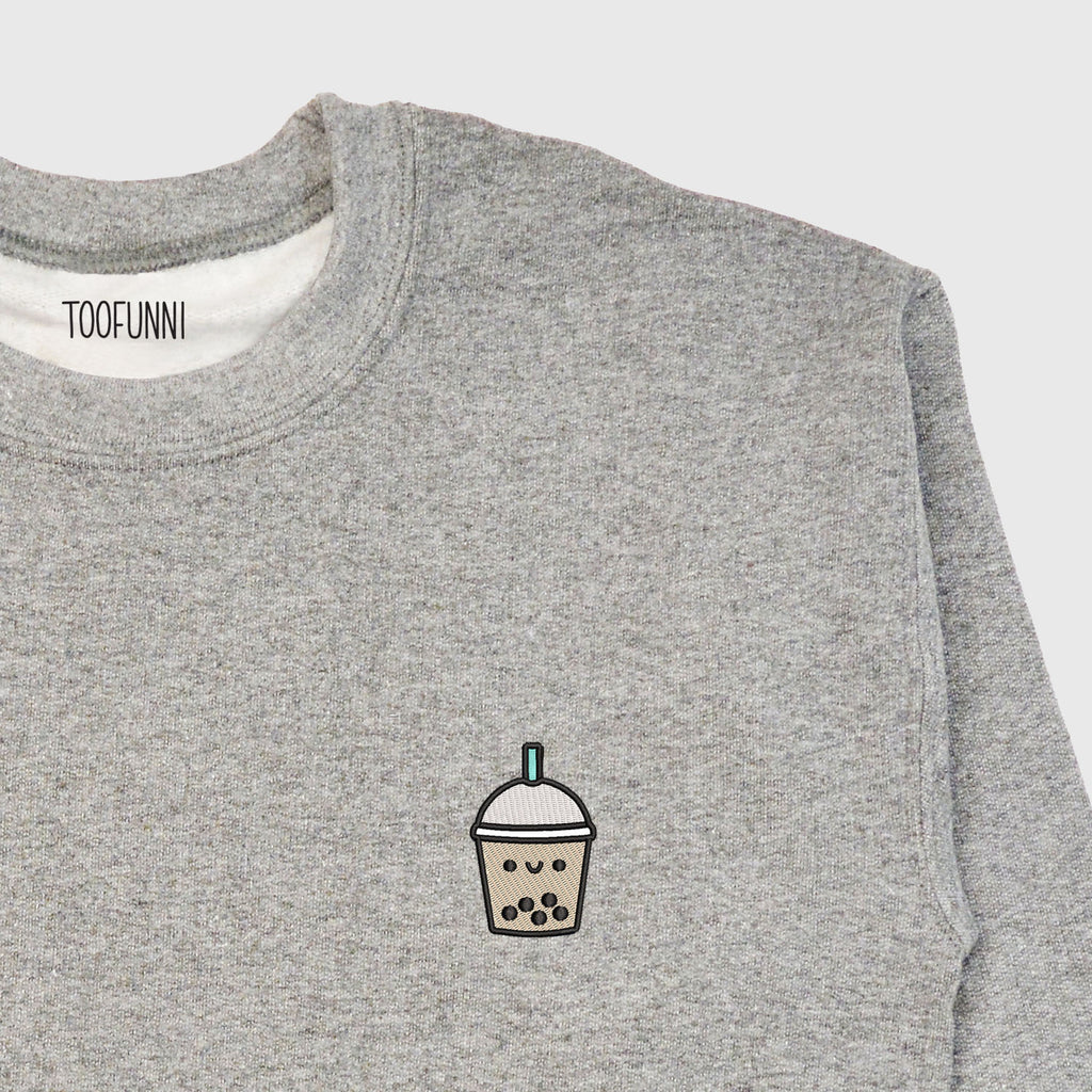 BUBBLE TEA BLUE - Sweatshirt or Hoodie