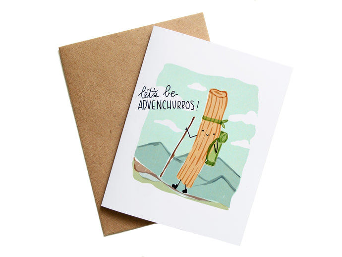 ADVENCHURROS - Card