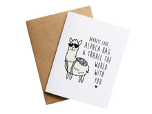 ALPACA BAG - Card