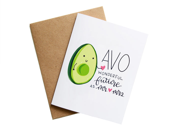 AVO FUTURE AS MR. & MRS. - Card