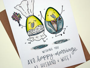 HAPPY MARRIAGE - Card