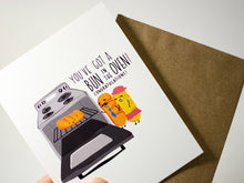 BUN IN THE OVEN - Card