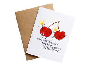 CHERRYLEADER MOM - Card