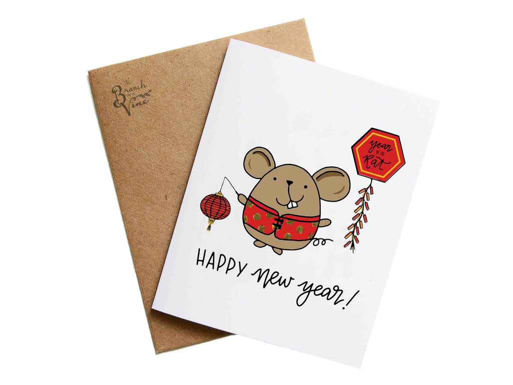 CHINESE NEW YEAR Collection - Year of the Rat