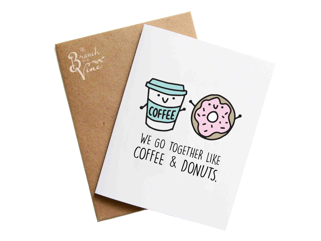COFFEE DONUTS - Card