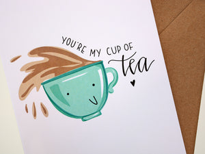 CUP OF TEA - Card