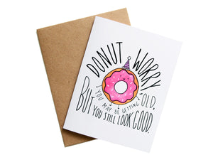 DONUT WORRY - Card