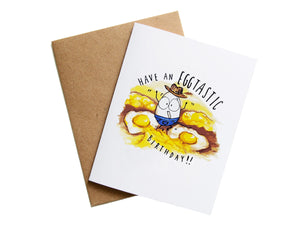 EGGTASTIC BIRTHDAY - Card