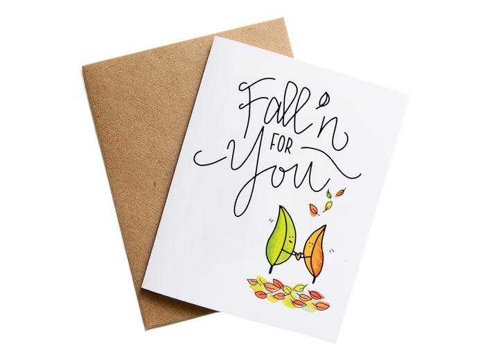FALL'N FOR YOU - Card