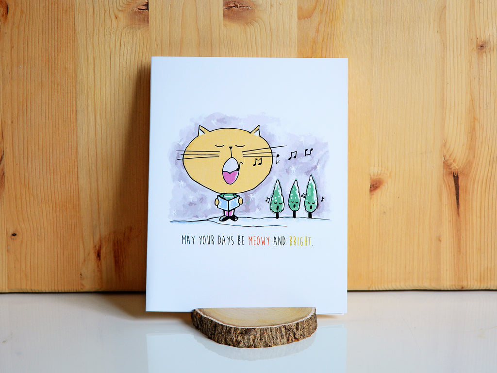 MEOWY & BRIGHT - Card