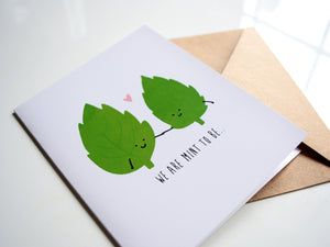 MINT TO BE - Card