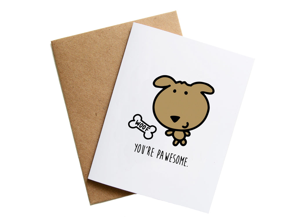 PAWESOME - Card