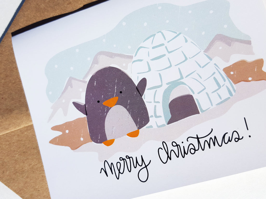 PENGUIN CHRISTMAS - Card