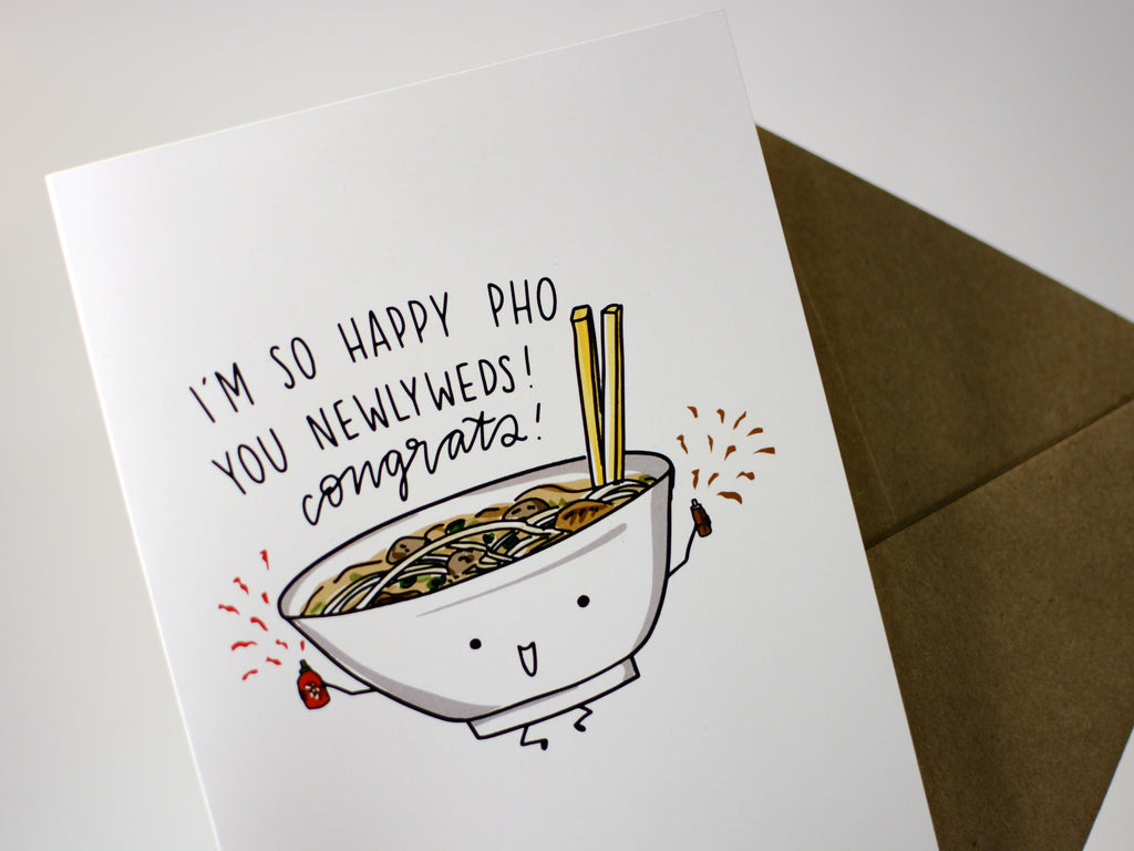 PHO WEDDING - Card