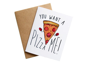 PIZZA ME - Card