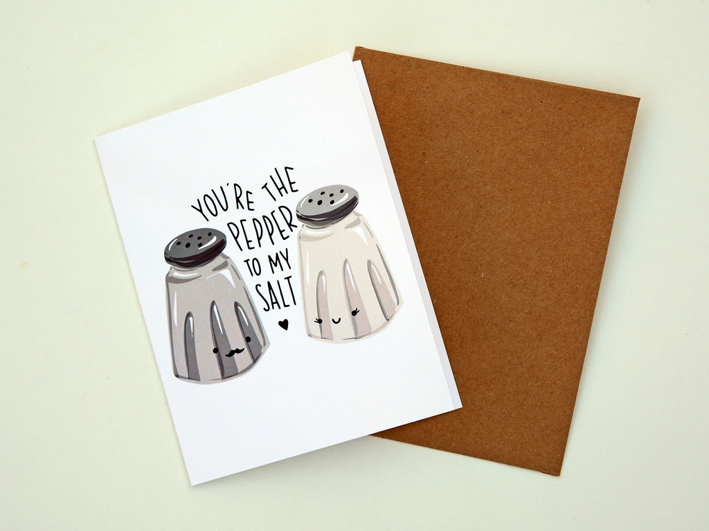 SALT & PEPPER - Card