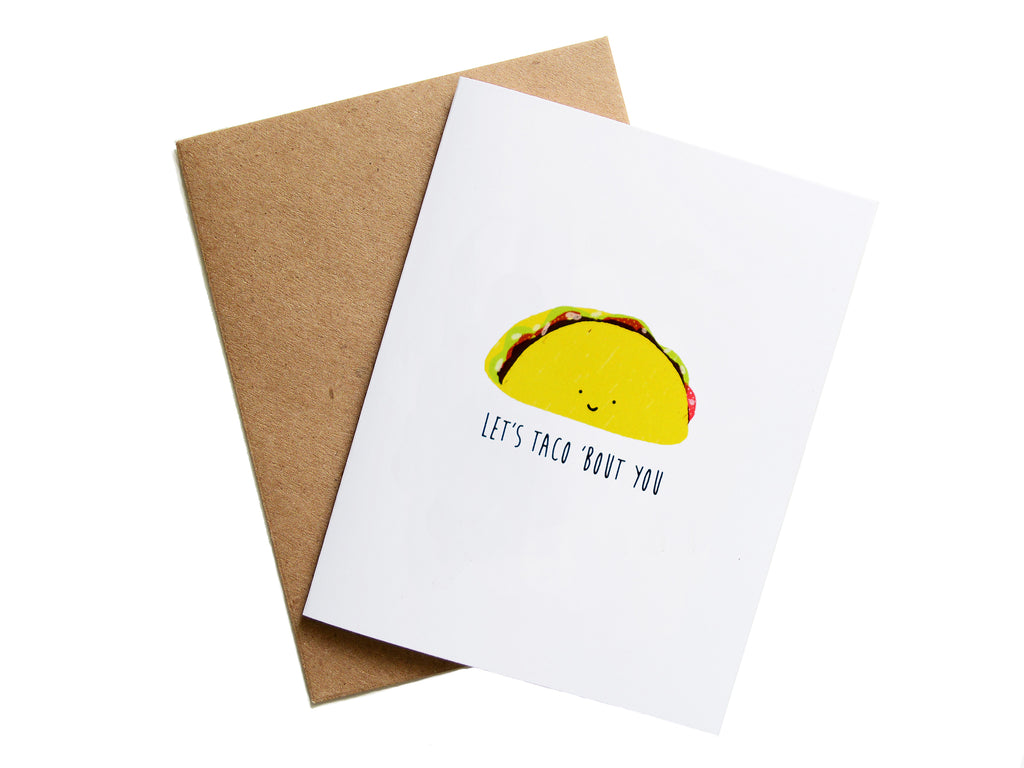 TACO 'BOUT YOU - Card