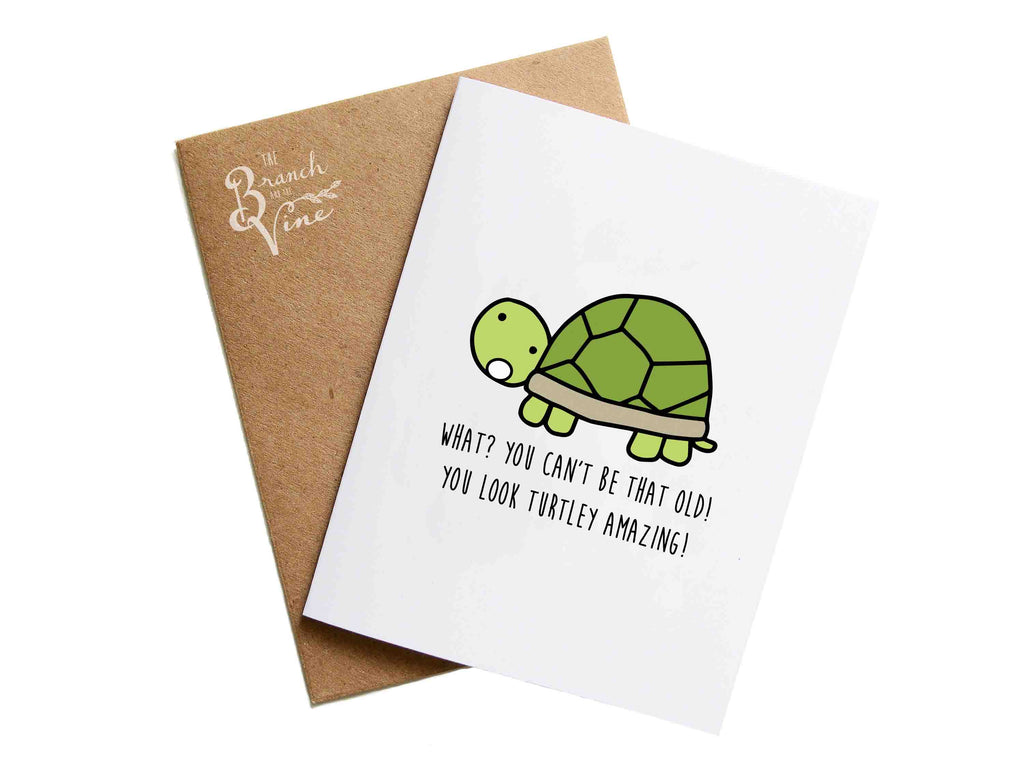 TURTLEY - Card