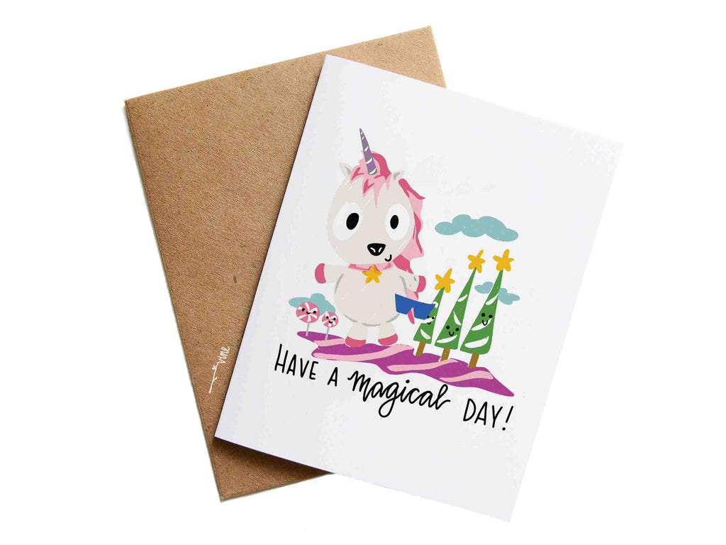 MAGICAL DAY - Card