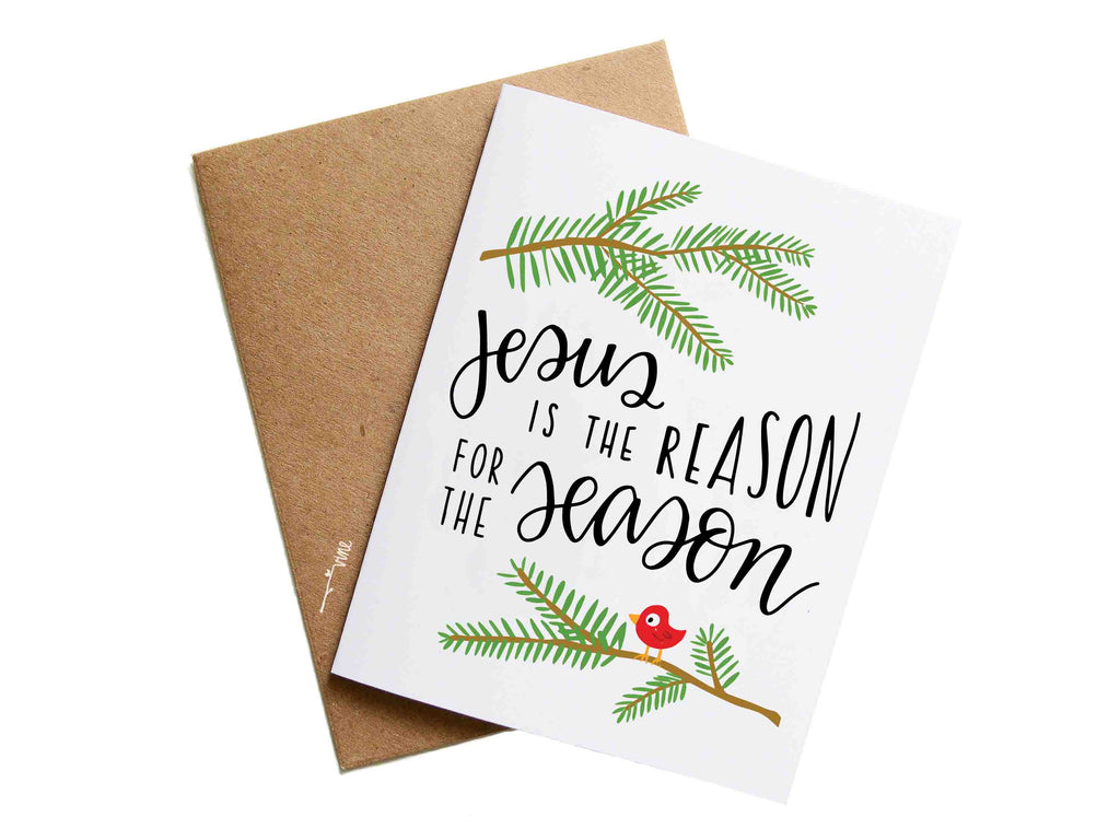JESUS IS THE REASON - Card