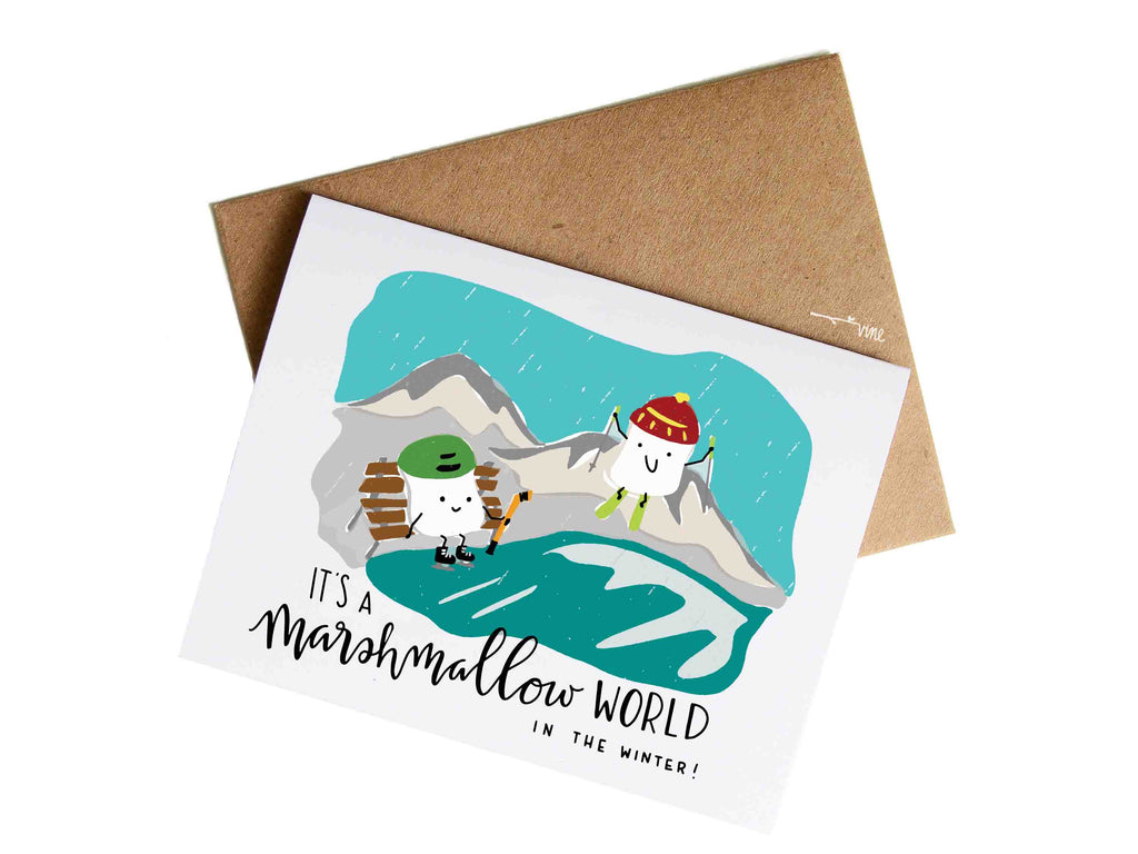 MARSHMALLOW WORLD - Card