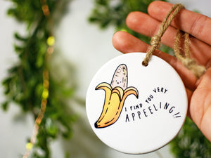 APPEELING - Ceramic Ornament