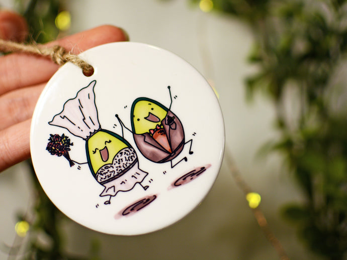 AVO WEDDING - Ceramic Ornament
