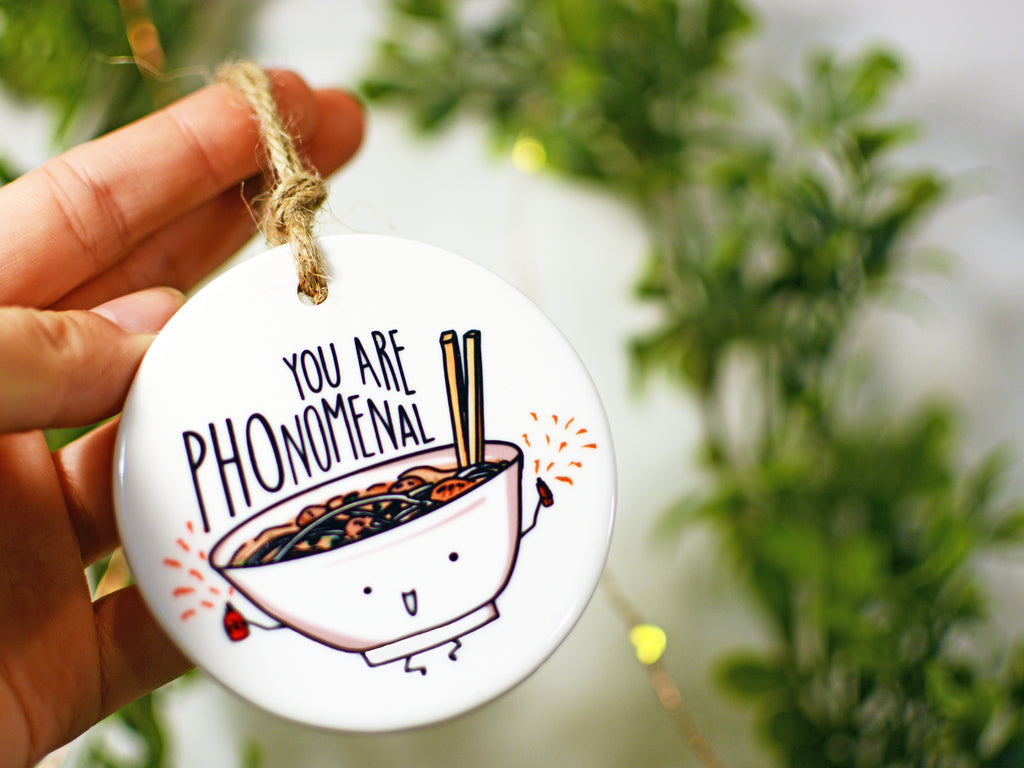 PHONOMENAL - Ceramic Ornament