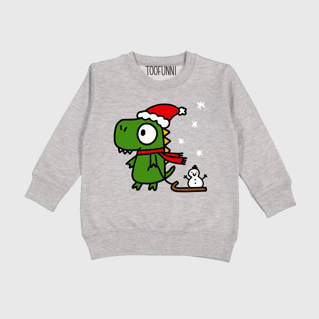 TODDLER CHRISTMAS DINO - Sweatshirt