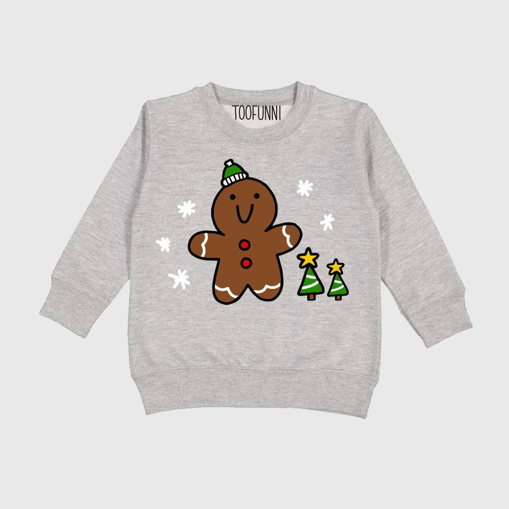 TODDLER CHRISTMAS GINGERBREAD - Sweatshirt