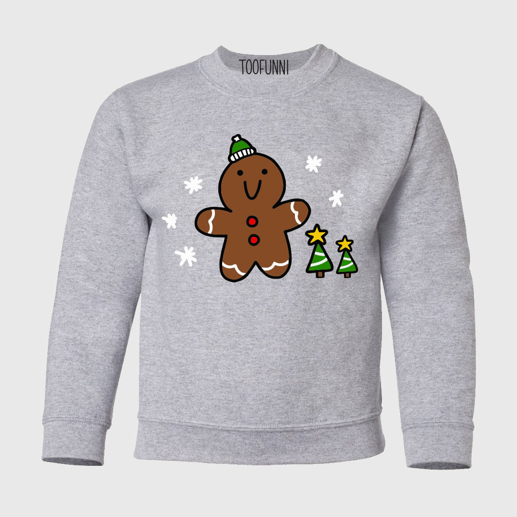YOUTH CHRISTMAS GINGERBREAD - Sweatshirt
